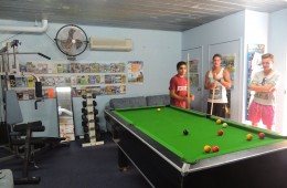 Having a day in, too tired to venture out? You can try a quiet game of pool with freinds, or, play the Retro video games in the recreational / gym room.