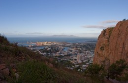 One of the high lights of visiting Townsville is to take a 45 minute walk to our glorious Castle hill, which is particularly beautiful at sunrise and sunset. Ask for a free map.
